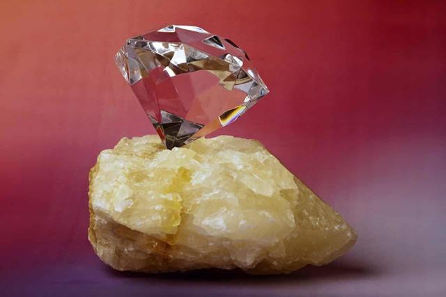 Алмаз - сообщение доклад 3, 4 класс окружающий мир