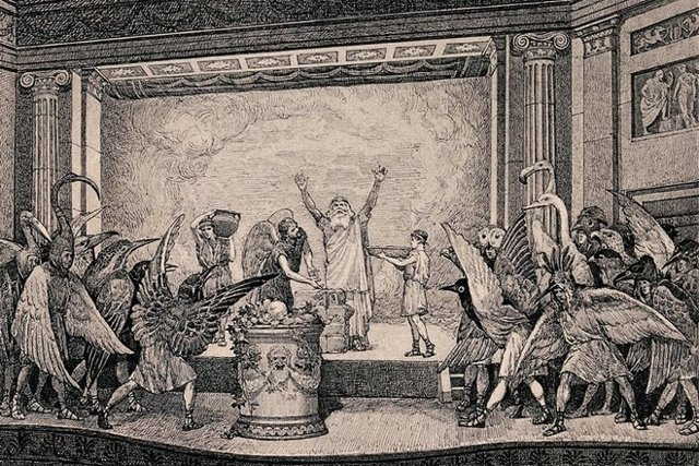 Краткое содержание произведений Аристофана