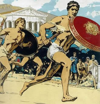 История Олимпийских игр - сообщение доклад