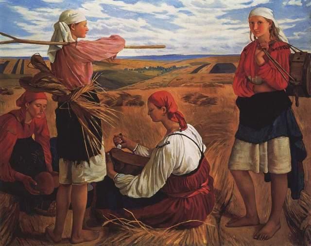 Творчество Зинаиды Серебряковой