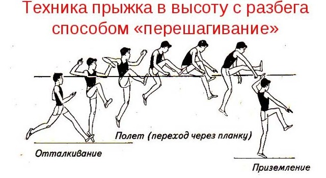 Прыжки в высоту - сообщение доклад