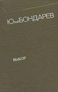 Выбор - краткое содержание романа Бондарев