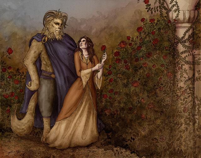 Красавица и чудовище - краткое содержание сказки Перро