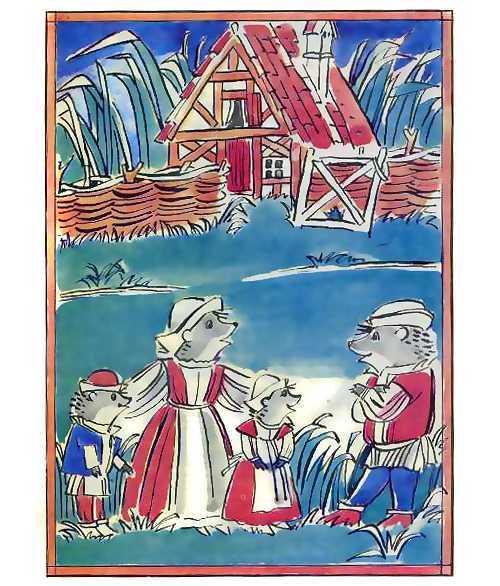 Заяц и еж - краткое содержание сказки Гримм
