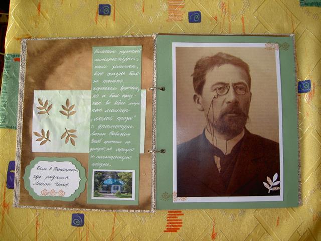 Альбом - краткое содержание рассказа Чехова