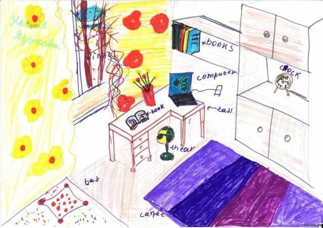 Сочинение Комната моей мечты 6 класс