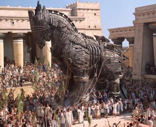 Троянская война краткое содержание для детей