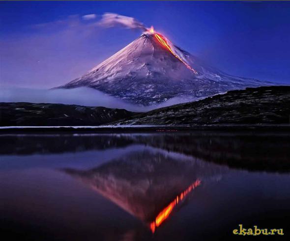 Вулканы России - доклад сообщение