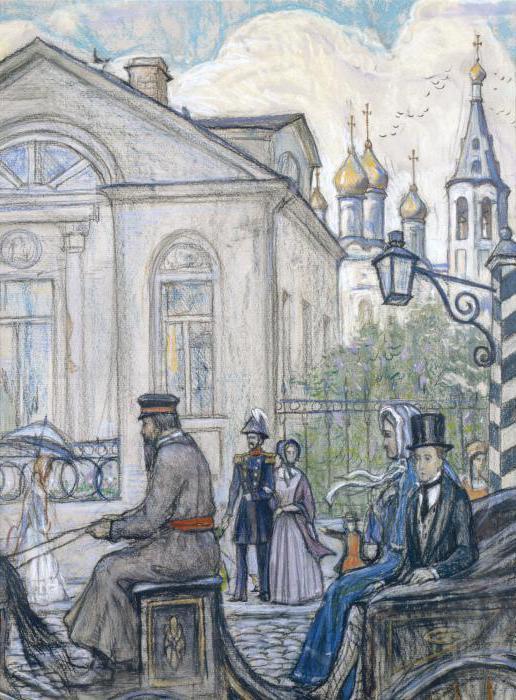 Гончаров - краткое содержание произведений