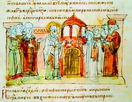 Слово о законе и благодати - краткое содержание речи Илариона Киевского