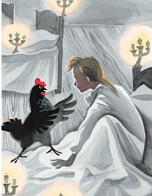 Чёрная курица, или Подземные жители - краткое содержание рассказа Погорельского