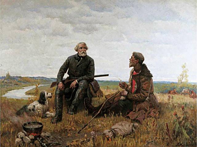 Анализ рассказа Два помещика Тургенева