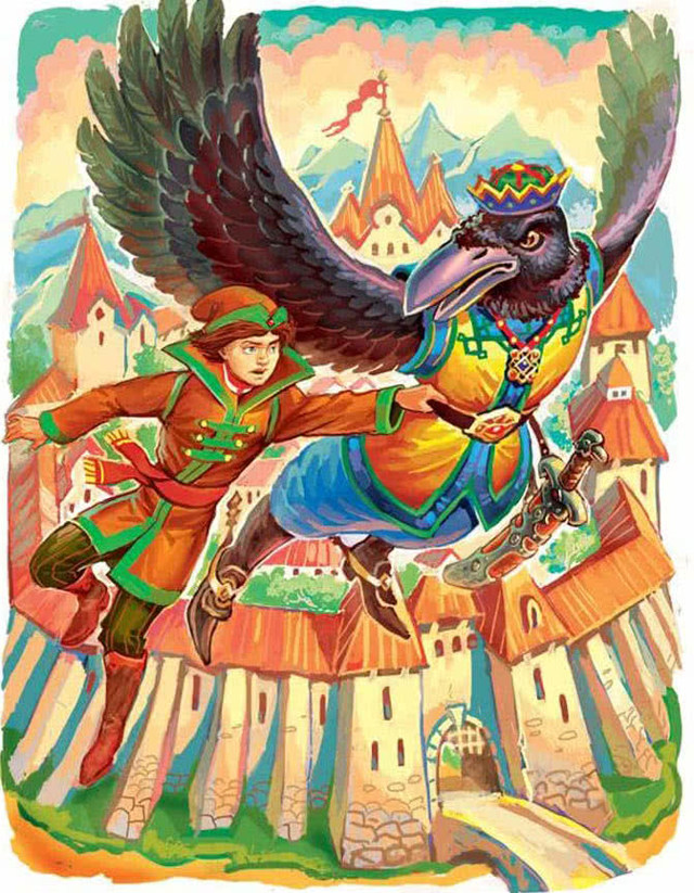 Подземные царства - краткое содержание сказки
