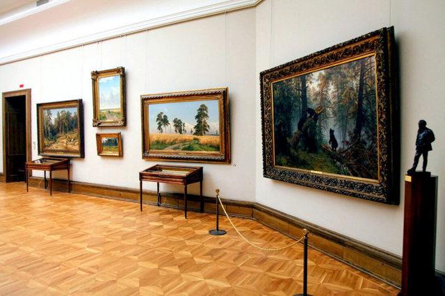 Третьяковская галерея - сообщение доклад (2, 3, 7, 8 класс)