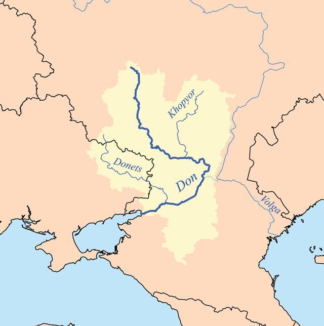 Река Дон - доклад сообщение