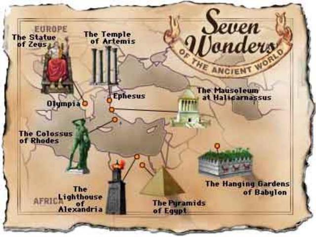 Доклад про Семь чудес света (сообщение)