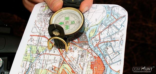 Ориентирование на местности - доклад сообщение