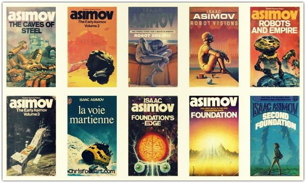 Жизнь и творчество Айзека Азимова (биография)