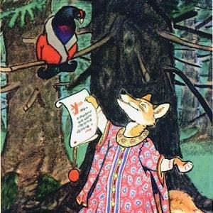 Лиса и тетерев - краткое содержание сказки