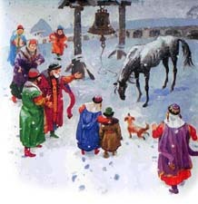 Слепая лошадь - краткое содержание сказки Ушинского