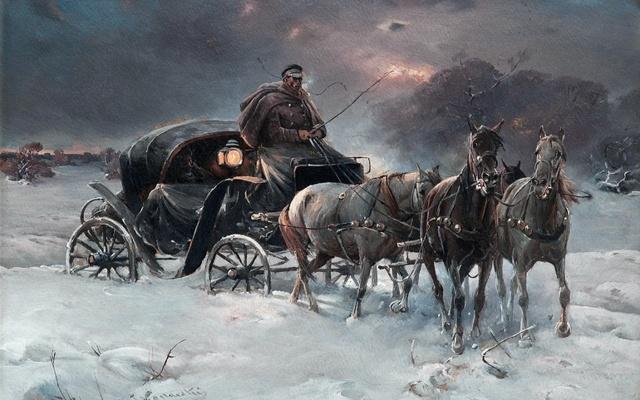 Анализ стихотворения Пушкина Зимняя дорога 5 класс