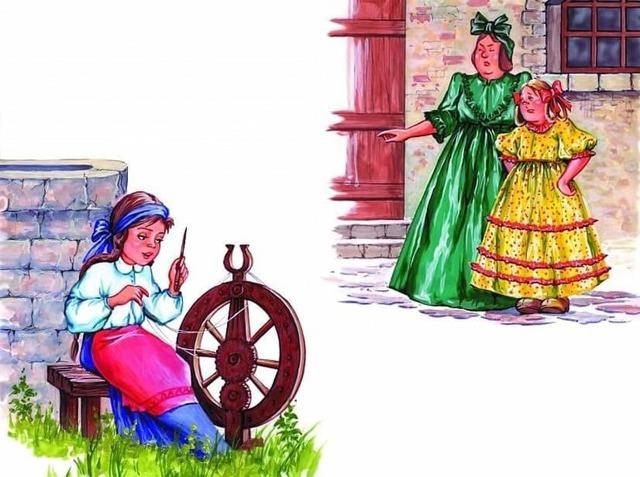 Госпожа Метелица - краткое содержание сказки братьев Гримм