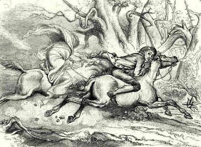 Легенда о Сонной Лощине - краткое содержание рассказа Ирвинга
