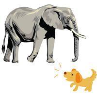 Слон и Моська - краткое содержание басни Крылова