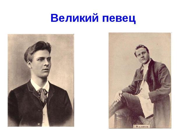 Федор Шаляпин - сообщение доклад по музыке 6 класс